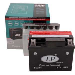 Landport YTX4L-BS accu 2 takt