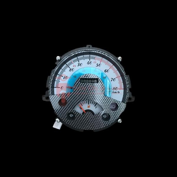 Turbho RM-50 km teller klok