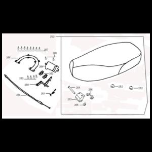 Turbho RL-50 (S) AGM VX tekening zadel