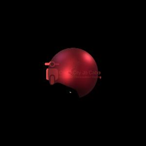 Turbho spiegel sierkap mat rood